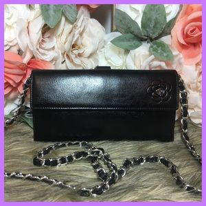 Authentic CHANEL Long Wallet on Chain